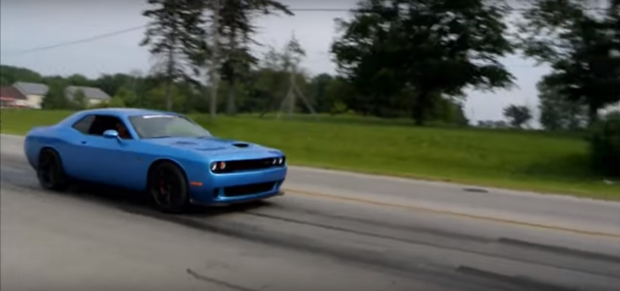 Hp TT GNX Does HUGE Rolling Burnout Then Gets Pulled Over - Cool cars doing burnouts