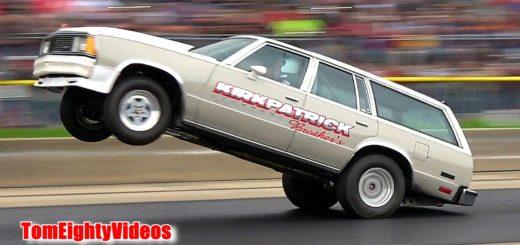 Ricky Kirkpatrick's 1981 Chevy Malibu Wagon.