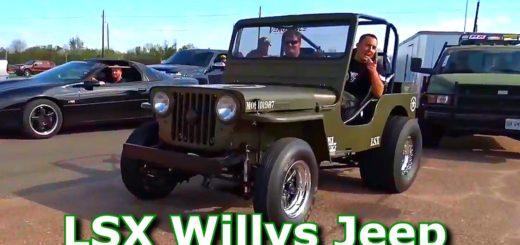 LSX Willys Jeep
