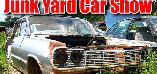 Junk Yard Car Show