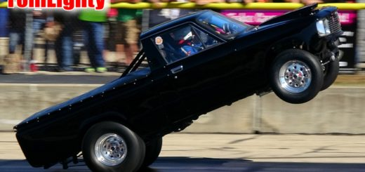 Chevy Luv Truck Wheelie