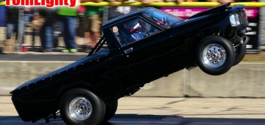 Chevy Luv Truck Wheelie