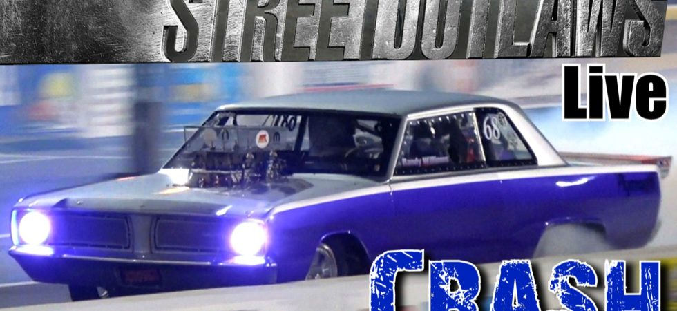 Street Outlaws Live Purple Rain Crash